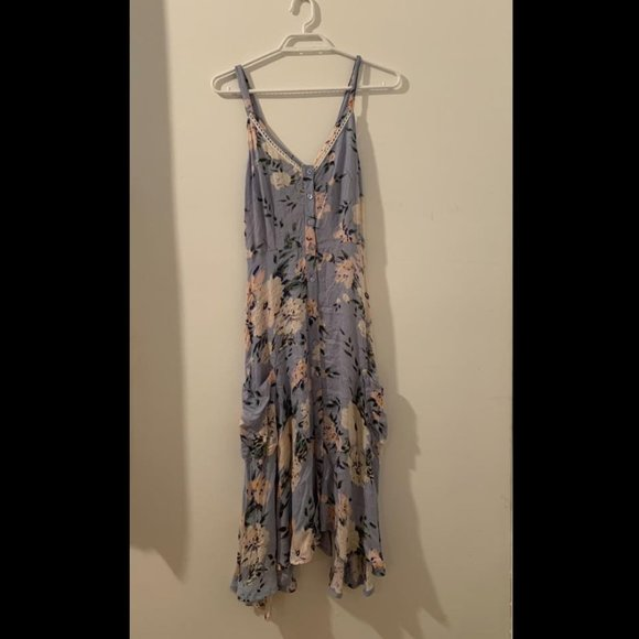 NWOT - Alchemy Floral Midi Dress - ETHICALLY MADE